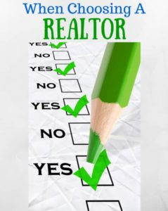 When choosing a realtor in Clarksvilel TN, How to pick a real estate agent in Clarksville TN, 10 things to pick when looking for a Real Estate Agent in Clarksville TN