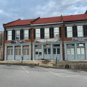 Old Store fronts in Downtown Clarksville TN